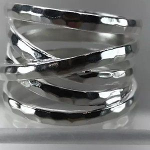 SILPADA .925 STERLING WRAPS OF SILVER BAND RING